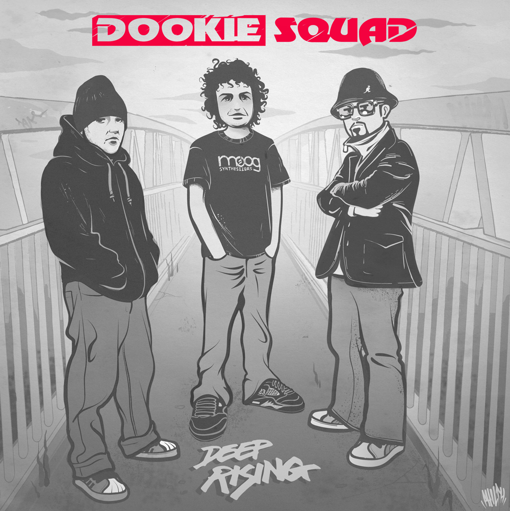 "Dookie Squad - Deep Rising 12"" Red Vinyl."